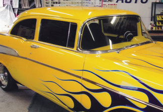 57 Chevy - Window Tint - After
