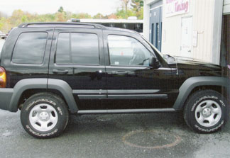 Window Tint - Jeep After